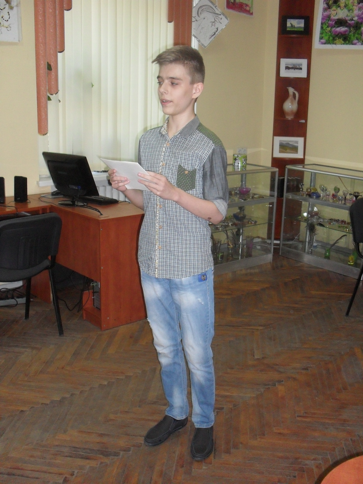 Nikita Lukash reads his poems
